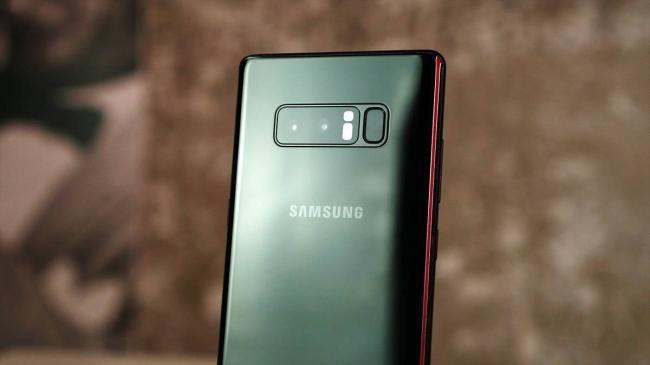 Galaxy Note 8 камера