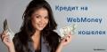 Как взять кредит на вебмани