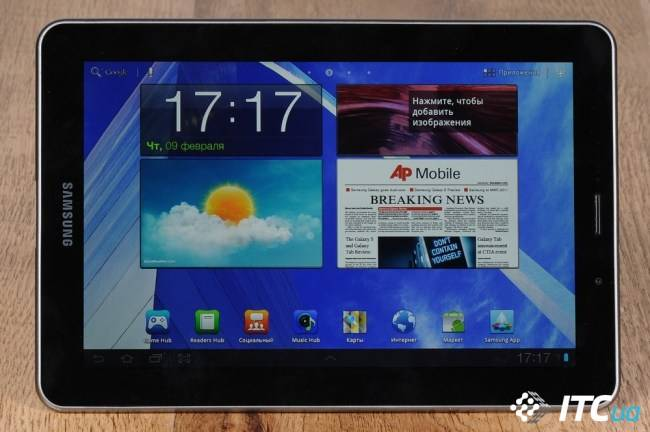 Обзор планшета Samsung GALAXY Tab 7.7 (GT-P6800)